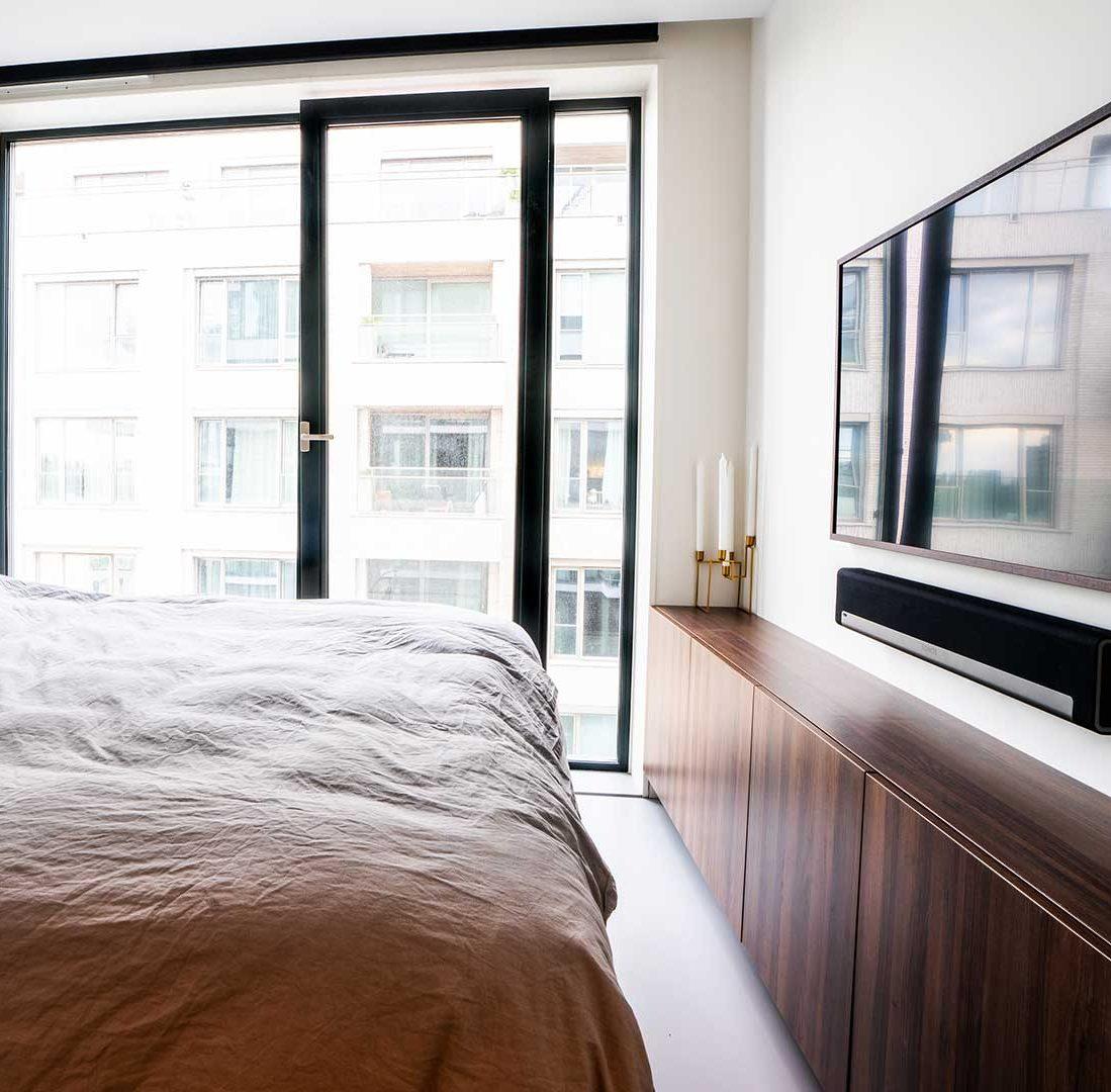 Interieur-Ontwerp_Residence_Particulier_Amsterdam_Dressoir_Achterwand-Bed__07